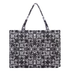 Modern Oriental Pattern Medium Tote Bag