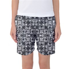 Modern Oriental Pattern Women s Basketball Shorts