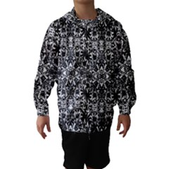 Modern Oriental Pattern Hooded Wind Breaker (Kids)