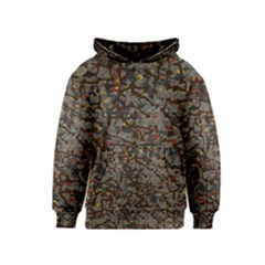 A Complex Maze Generated Pattern Kids  Pullover Hoodie