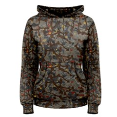 A Complex Maze Generated Pattern Women s Pullover Hoodie