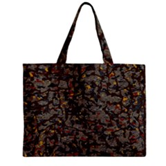 A Complex Maze Generated Pattern Zipper Mini Tote Bag