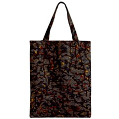 A Complex Maze Generated Pattern Zipper Classic Tote Bag