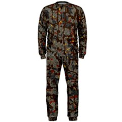 A Complex Maze Generated Pattern Onepiece Jumpsuit (men)