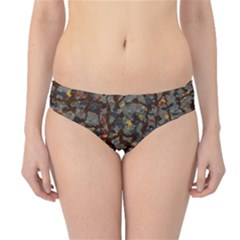 A Complex Maze Generated Pattern Hipster Bikini Bottoms