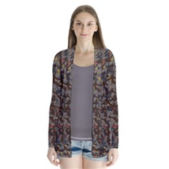 A Complex Maze Generated Pattern Cardigans