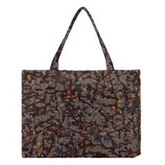 A Complex Maze Generated Pattern Medium Tote Bag