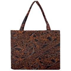 Art Traditional Indonesian Batik Pattern Mini Tote Bag