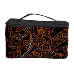 Art Traditional Indonesian Batik Pattern Cosmetic Storage Case