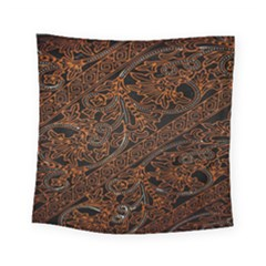 Art Traditional Indonesian Batik Pattern Square Tapestry (small)