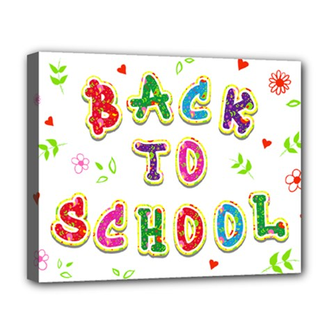 Back To School Deluxe Canvas 20  X 16