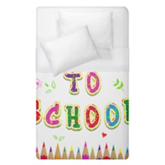 Back To School Duvet Cover (single Size)