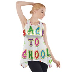 Back To School Side Drop Tank Tunic