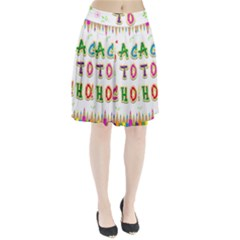 Back To School Pleated Skirt