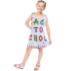 Back To School Kids  Tunic Dress