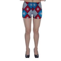 Atar Color Skinny Shorts