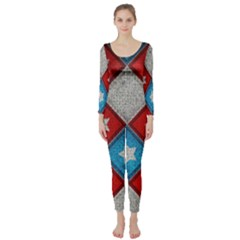 Atar Color Long Sleeve Catsuit
