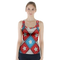 Atar Color Racer Back Sports Top
