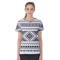 Aztec Pattern Women s Cotton Tee