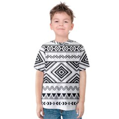 Aztec Pattern Kids  Cotton Tee