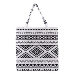 Aztec Pattern Grocery Tote Bag