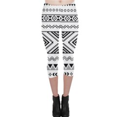 Aztec Pattern Capri Leggings