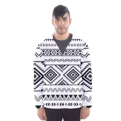Aztec Pattern Hooded Wind Breaker (men)