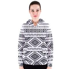 Aztec Pattern Women s Zipper Hoodie