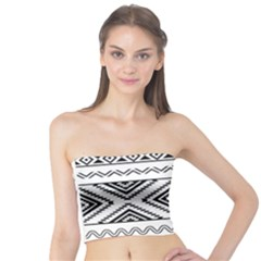 Aztec Pattern Tube Top