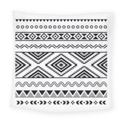 Aztec Pattern Square Tapestry (large)