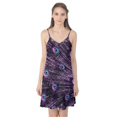 Bird Color Purple Passion Peacock Beautiful Camis Nightgown
