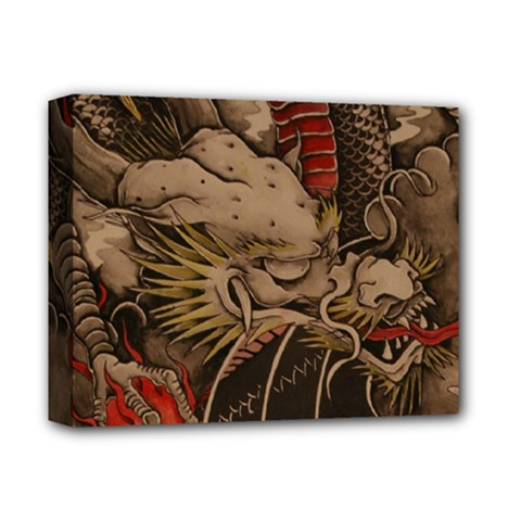 Chinese Dragon Deluxe Canvas 14  X 11