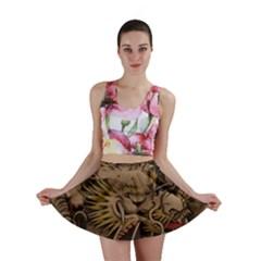 Chinese Dragon Mini Skirt