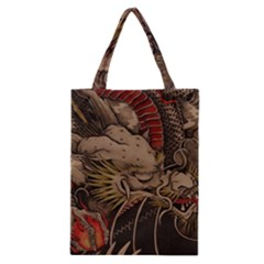 Chinese Dragon Classic Tote Bag