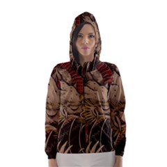 Chinese Dragon Hooded Wind Breaker (women)