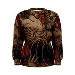 Chinese Dragon Women s Sweatshirt