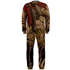 Chinese Dragon OnePiece Jumpsuit (Men)