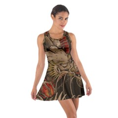 Chinese Dragon Cotton Racerback Dress