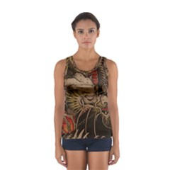 Chinese Dragon Women s Sport Tank Top