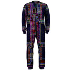 Technology Circuit Board Layout Pattern OnePiece Jumpsuit (Men)
