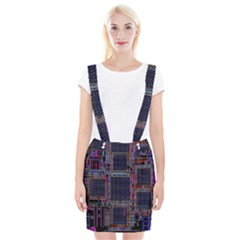 Technology Circuit Board Layout Pattern Suspender Skirt