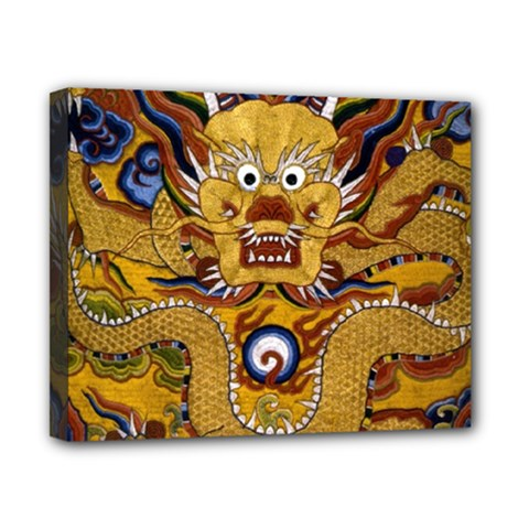 Chinese Dragon Pattern Canvas 10  X 8