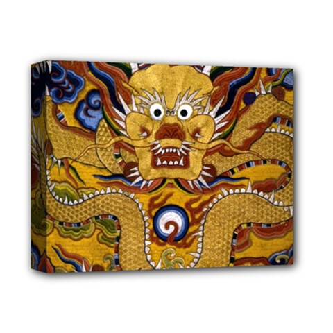 Chinese Dragon Pattern Deluxe Canvas 14  X 11