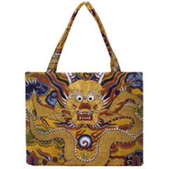 Chinese Dragon Pattern Mini Tote Bag
