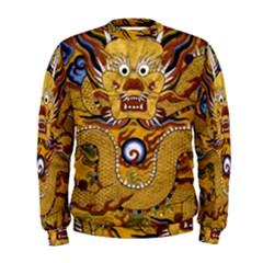 Chinese Dragon Pattern Men s Sweatshirt