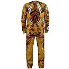 Chinese Dragon Pattern Onepiece Jumpsuit (men)