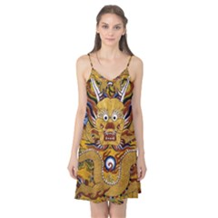 Chinese Dragon Pattern Camis Nightgown