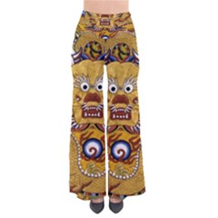 Chinese Dragon Pattern Pants