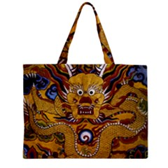 Chinese Dragon Pattern Medium Tote Bag