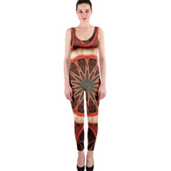 Circle Pattern OnePiece Catsuit